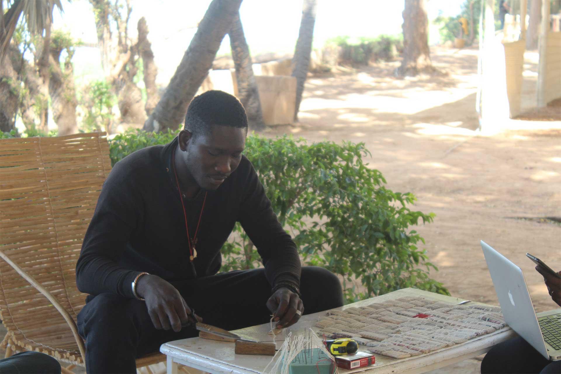 Master Class en Arts Plastiques du Programme Korè Qualité 3 : Les artistes créent leur propre matière