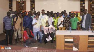 Lancement du livre Maaya Culture et Entrepreneuriat, puis Promotion de l'Economie Locale, modèle CPEL-SEGOU
