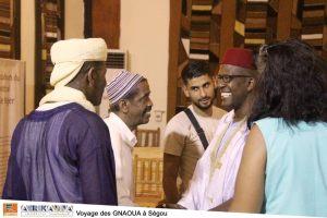 Voyage des GNAOUA à Ségou