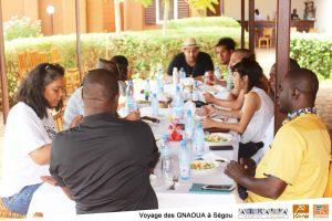 «GNAOUA du Maroc en terre BAMBARA de Ségou»