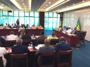 La  Fondation Festival sur le Niger à l'ouverture de la première réunion des experts qui accompagnent le Président de la République du Mali