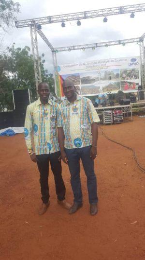 Représentation de La Fondation Festival sur le Niger au JMT à Koulikoro
