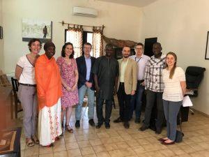 Reunion du collège de la Fondation Festival sur le Niger avec la délégation de l'Union européenne