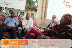Conference de presse Ségou'Art/FSN 2020
