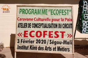 l'atelier de conceptualisation et de lancement du circuit ECOFEST