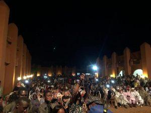 Soirée de la célébration des 10 ans du Centre Culturel Kôrè, Abdoulaye DIABATÉ, Salomé DEMBÉLÉ, Gaousso DIAO et Adam OUANE