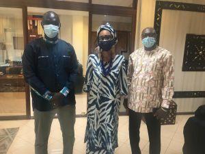 visite du Coordination de Ségou' Art – Festival sur le Niger