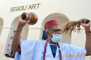 Ceremonie d'ouverture Segou'Art 2021