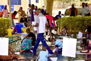 Atelier artistique des enfants
