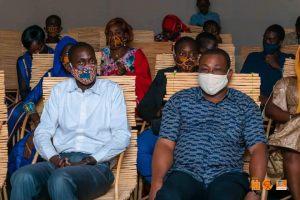 Visite du ministre de la culture, de l'artisanat et du tourisme au stand de Kôrè Fab Lab