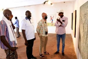 Vernissage de l'expo OFF du collectif des artistes plasticiens de Ségou