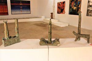 Aperçu  de l'exposition des artistes seniors Ségou'Art 2021